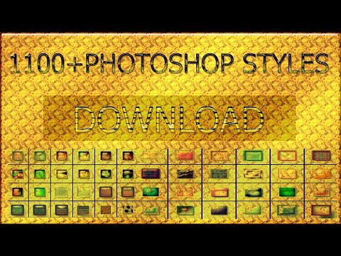 Download 1100+ Photoshop Styles For Designing Photoshop Styles Effects