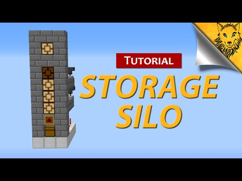Minecraft: A New Storage Silo Design [Works in 1.9+]