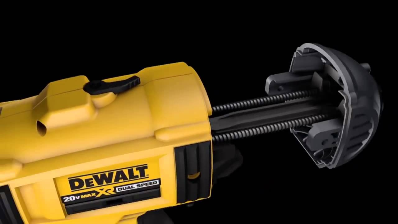 DeWalt - How to Return Spring Replacement from a Cordless Framing ...