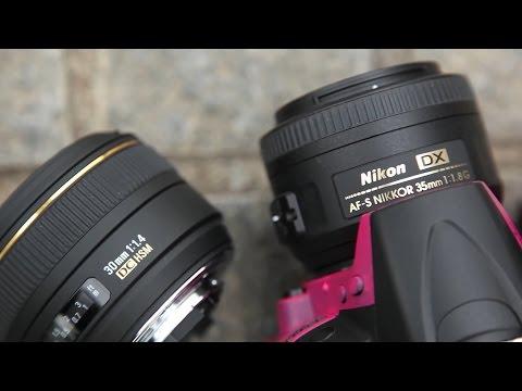 DRTV по-русски: Сравнение Sigma 30mm f/1.4 и Nikon 35mm f/1.8 DX