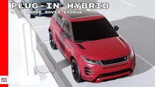 New Range Rover Evoque Plug in Hybrid