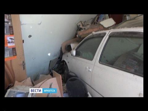 """Женщина, въехавшая на автомобиле в магазин-пекарню «Лакомка» в Тайшете была трезвой, """"Вести-Иркутск"""""""