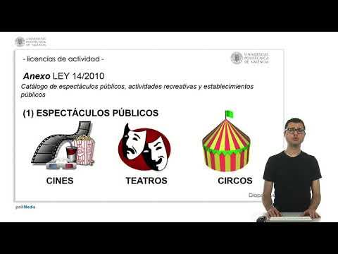 LICENCIAS DE ACTIVIDAD |  | UPV