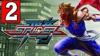 """STRIDER: 2014 Gameplay Walkthrough Part 2 (KAZAKH CITY) HD XBOX ONE PS4 PC """"STRIDER PS4"""""""