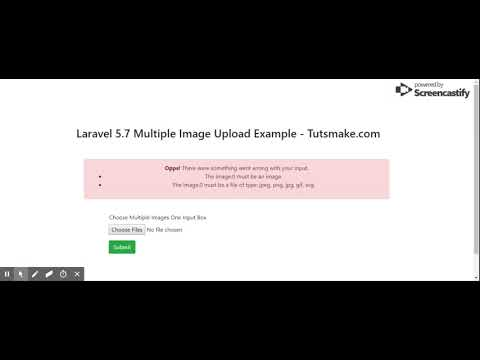 Simple Multiple Image Upload In Laravel 5 7 Project - Tuts Make