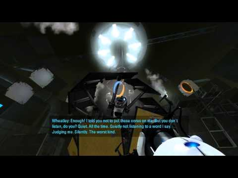 Let's Play Portal 2 Singleplayer E9 - The Part Where He Kills You