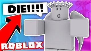 WEEPING ANGEL DISGUISE TROLLING! (ROBLOX SUPER POWER TRAINING SIMULATOR)