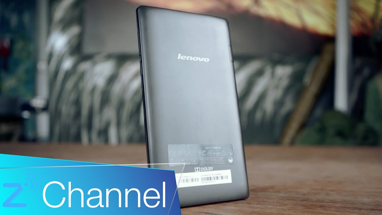 Đánh giá Lenovo Tab 2 A7-10: Đáng mua ở phân khúc giá rẻ [ZChannel]
