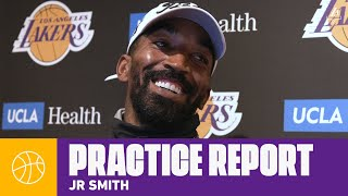 JR Smith compares LeBron's leadership styles from Cleveland to ...