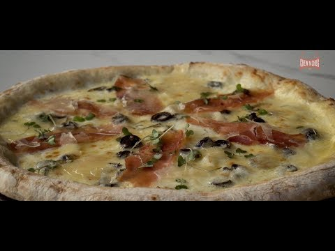 Sourdough pizzas at the Pizza Bakery Bengaluru and one of the best pizzas in Bengaluru