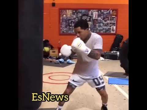 Davis working very hard for Abner fight