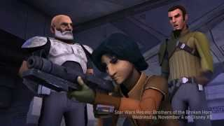 Star Wars Rebels Season 2 Episode 5 - Brothers of the Broken Horn Footage