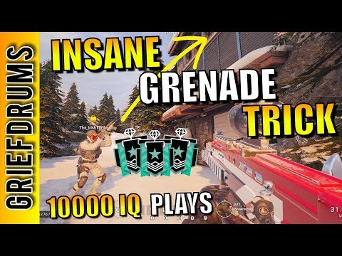 **NEW** Grenade Trick to counter Mira on Chalet: Rainbow Six Siege