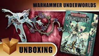 Warhammer Underworlds Unboxing: Nightvault