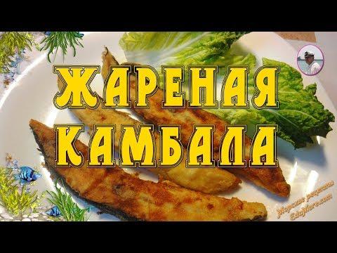 Камбала жареная - кулинарный рецепт с фото