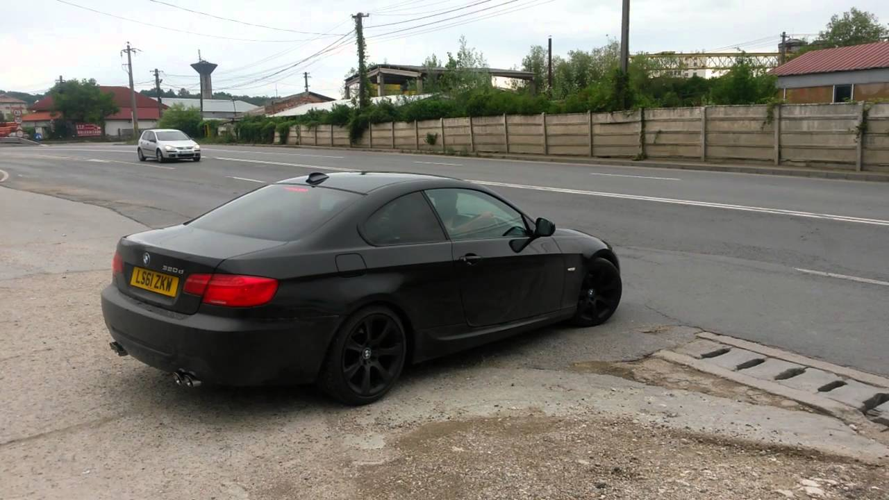 Bmw E92 320d Dual Exhaust By Pilot Test Sound