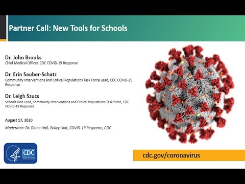 CDC COVID-19 Partner Update: New Tools for Schools