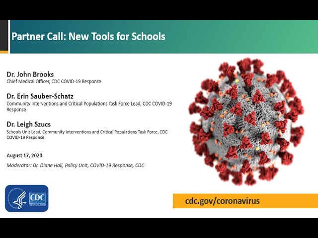 Centers for Disease Control's New Tools for Schools.