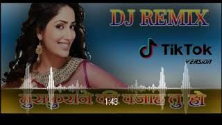 Muskurane ki  wajah  tum ho ❤️  Dj Remix Tik Tok version song female version no voice teg