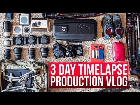 Three day timelapse production vlog