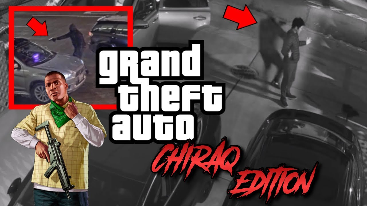 CHICAGO'S TURNING INTO REAL LIFE GTA, BLAMES GAME FOR CITY VIOLENCE