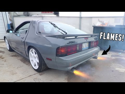 Pros & Cons to Owning a Rotary Powered Car!
