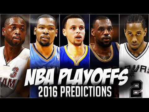 NBA Playoffs 2016 - Predictions | WHO MAKES THE NBA FINALS?