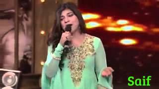 mirchi music award 2014 alka yagnik tribute to srk