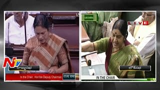 Sushma Swaraj Speech In Lok Sabha | Monsoon Parliament Session | Lalitgate | NTV