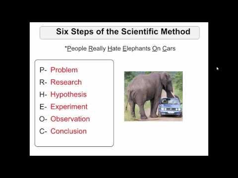 SCI7/8 - Scientific Method