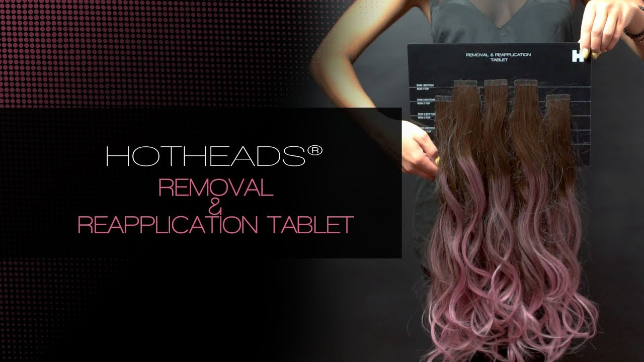 How To Use The Hotheads Removal Reapplication Tablet Youtube