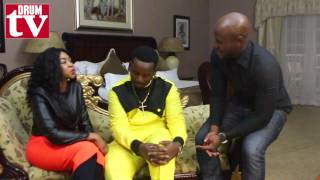 DRUM with gospel star Sfiso Ncwane and his wife Ayanda