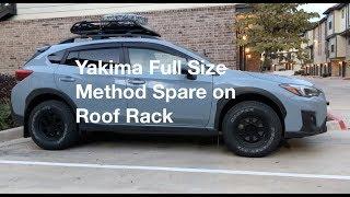 Method MR701 Full Size Spare on Yakima Basket
