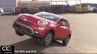 Fiat 500x 2016 -  Awd Test / diagonal test / offroad test