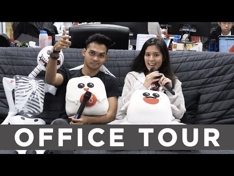THE SHOPBACK SINGAPORE OFFICE TOUR!