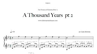 A Thousand Years  pt. 2
