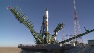 Вывоз РКН «Союз-2.1а» с ТГК «Прогресс МС-07»