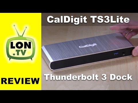 CalDigit TS3 Lite Thunderbolt 3 Docking Station for Mac and Windows