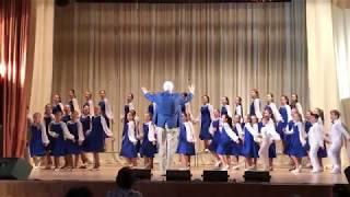 Хор Радуга Кубани ДШИ Юбилейная Попурри песен войне V краевой конкурс