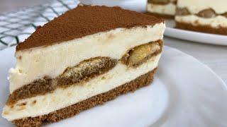 ТОРТ БЕЗ ВЫПЕЧКИ который любят миллионы Торт Тирамису нереально ВКУСНЫЙ торт