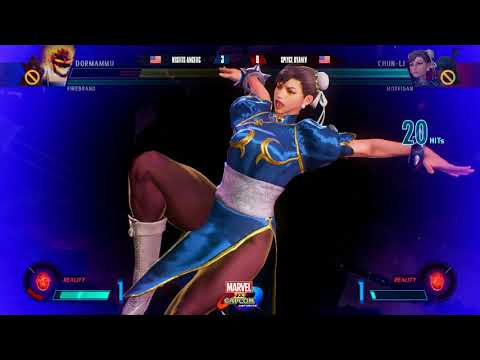 MVCI Exhibition @ Curleh Finale - Fable Angelic vs Splyce RyanLV [1080p/60fps]