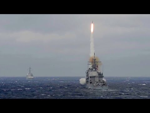 U.S. Navy Standard Missile-2 Live-fire – Eisenhower Strike Group