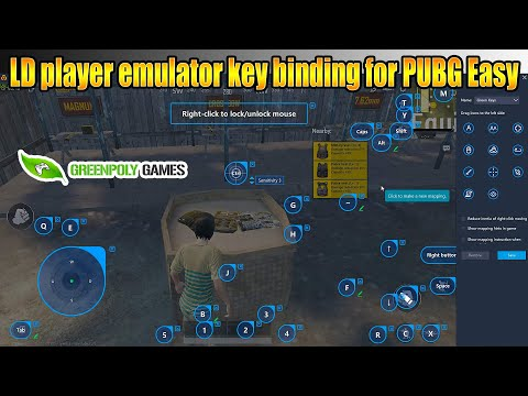 LD Player Emulator Key Bindings For Pubg #greenpolygames