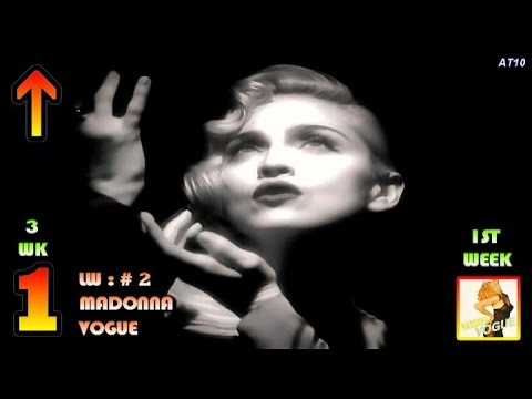 5.19.1990 - Top 10 Chart - Madonna's 8th No.1 Song