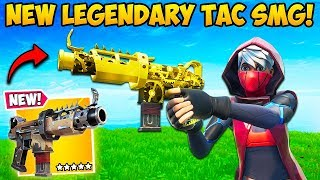 *NEW* LEGENDARY TAC SMG IS UNFAIR!! - Fortnite Funny Fails and WTF Moments! #691