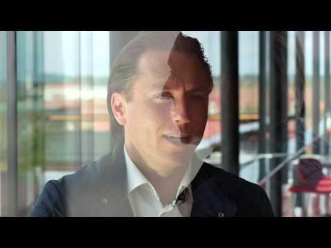 Anders Berglund Google Sveriges vd intervjuas av Viva Media