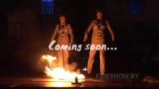 Огненное шоу. Фаер шоу и притехническое шоу Пилоты. Duo fire performance Pilots.  Teaser.