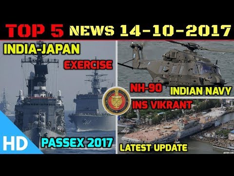 Indian Defence Updates : India Japan Navy Exercise, INS Vikrant Latest, Indian Navy MRH Deal