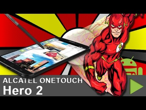 ALCATEL ONETOUCH Hero 2 Flash unboxing - Ein Video ohne Inhalt!