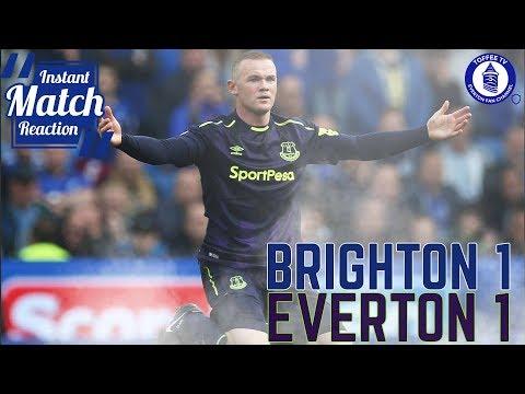 Rooney Saves Koeman | Brighton HA 1-1 Everton | Instant Match Reaction